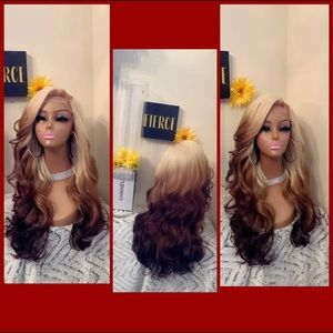 Human Hair blended lace front wig ❤️🔥❤️🔥❤️